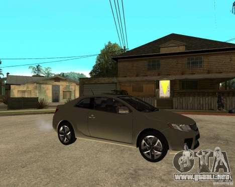 KIA Forte Coup para la visión correcta GTA San Andreas