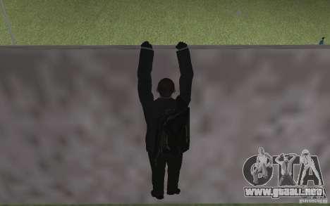 Animación de GTA IV v 2.0 para GTA San Andreas twelth pantalla