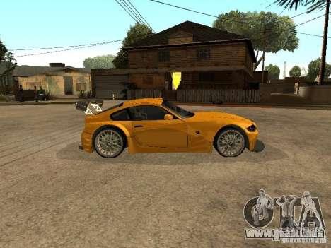 BMW Z4 Style Tuning para GTA San Andreas left