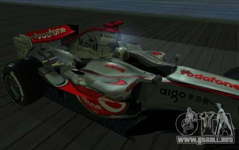 McLaren F1 para la visión correcta GTA San Andreas