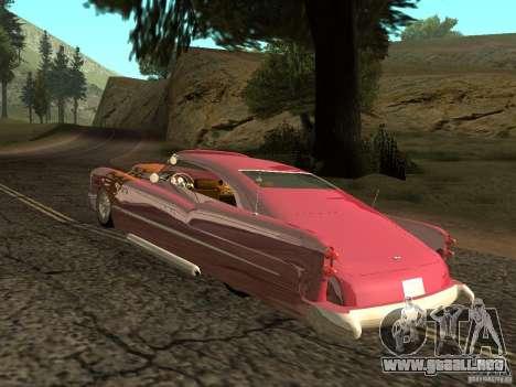 Buick Custom 1950 LowRider 1.0 para la visión correcta GTA San Andreas