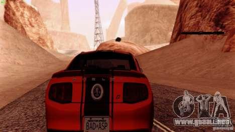 Direct R v1.0 para GTA San Andreas quinta pantalla