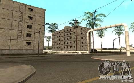 Un pequeño pueblo ruso en Grove Street para GTA San Andreas quinta pantalla
