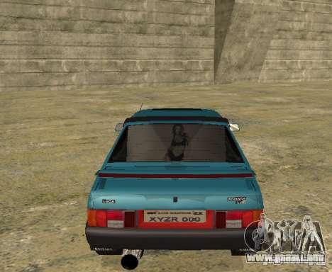 Melodía de sparco 21099 VAZ para la visión correcta GTA San Andreas