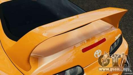 Toyota Supra Tuning para GTA motor 4