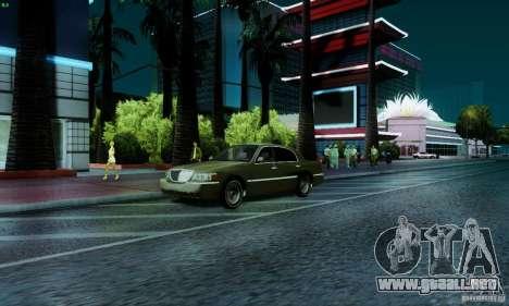Marty McFly ENB 2.0 California Sun para GTA San Andreas sexta pantalla