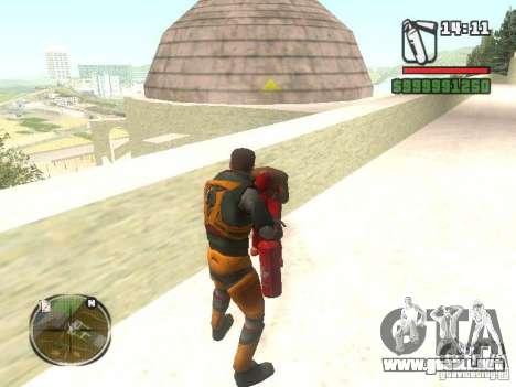 Gordon Freemen para GTA San Andreas tercera pantalla