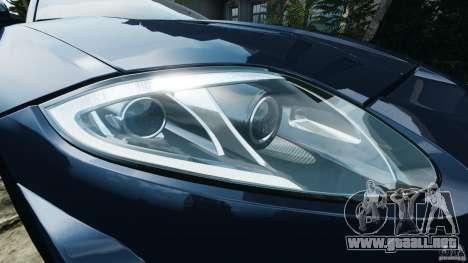 Jaguar XKR-S Trinity Edition 2012 v1.1 para GTA 4 ruedas