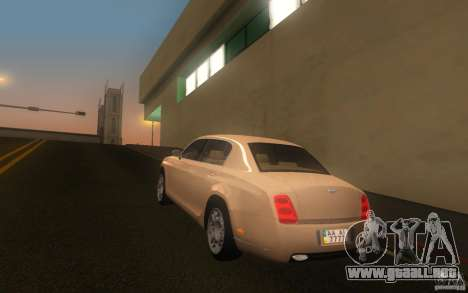 Bentley Continental Flying Spur para GTA San Andreas left