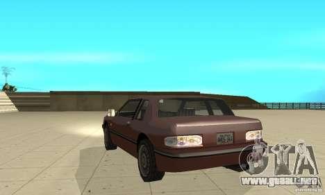 New lights and crash para GTA San Andreas quinta pantalla