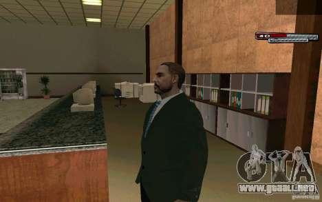 Mayor HD para GTA San Andreas segunda pantalla