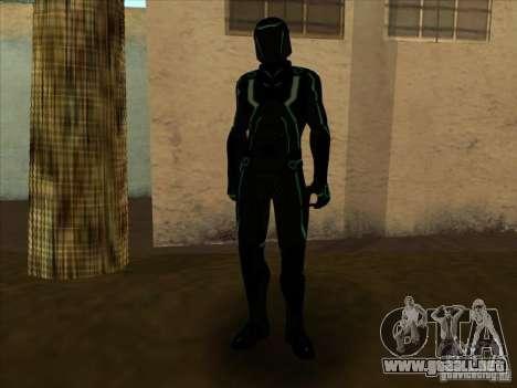 Un personaje del juego Tron: Evolution para GTA San Andreas sexta pantalla