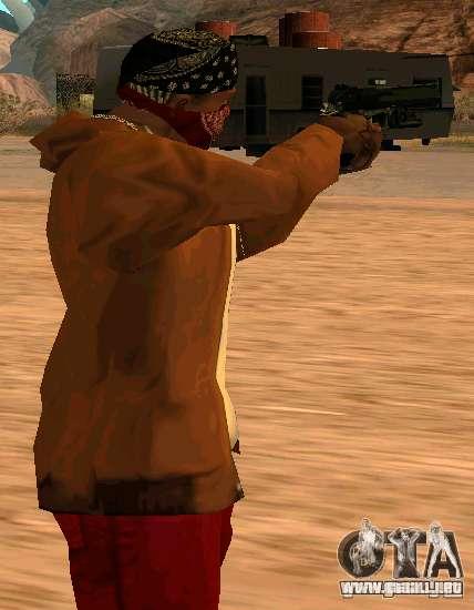 MW2 Deagle para GTA San Andreas segunda pantalla