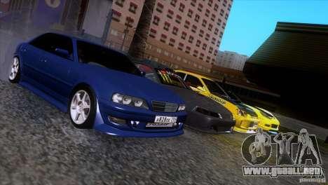 Toyota Chaser Tourer para visión interna GTA San Andreas