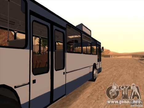 MAN SL200 Exclusive v.1.00 para la visión correcta GTA San Andreas