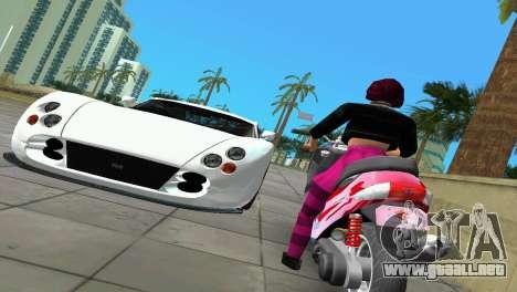 Suzuki Address 110 Custom Ver.1.3 para GTA Vice City vista lateral izquierdo