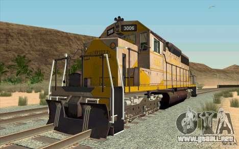 Clinchfield SD40 (Yellow & Grey) para GTA San Andreas