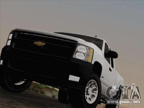 Chevrolet Silverado 2500HD 2013 para vista inferior GTA San Andreas