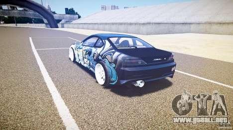 Nissan Silvia S15 Drift v1.1 para GTA 4 visión correcta