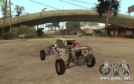 CORR Super Buggy 2 (Hawley) para GTA San Andreas vista posterior izquierda