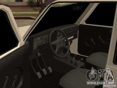 VAZ 2131 para GTA San Andreas vista hacia atrás