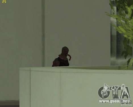 NEMESIS para GTA San Andreas segunda pantalla