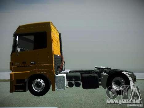 Mercedes-Benz Actros Rosneft para la visión correcta GTA San Andreas