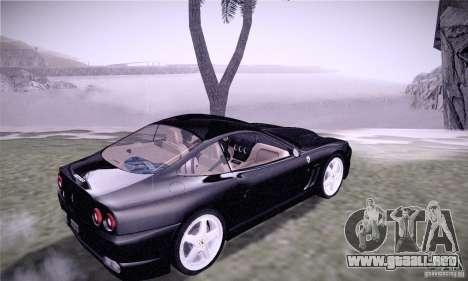 Ferrari 575M Maranello para la visión correcta GTA San Andreas