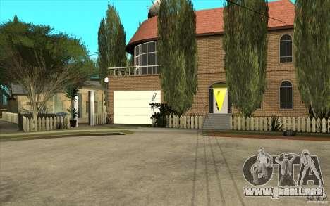 New Grove Street TADO edition para GTA San Andreas tercera pantalla