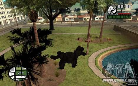 Exoesqueleto para GTA San Andreas sucesivamente de pantalla