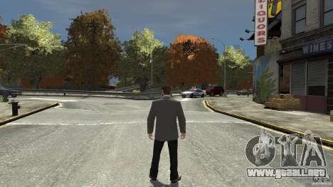 Jeans negros para GTA 4 tercera pantalla