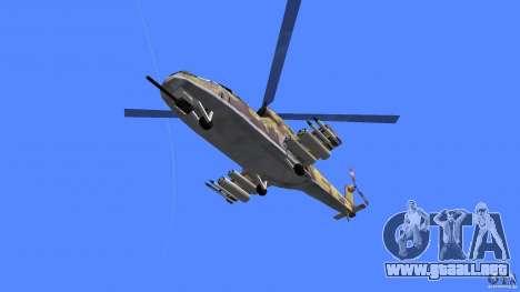 Mi-24 HindB para GTA Vice City visión correcta