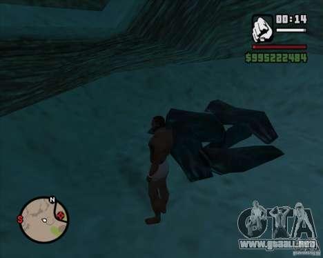 Duelo de vaquero para GTA San Andreas sexta pantalla