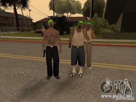 Vagosy-Grove para GTA San Andreas segunda pantalla