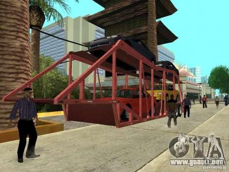 American Trailers Pack para GTA San Andreas
