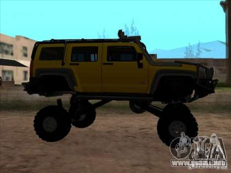 Hummer H3 Trial para GTA San Andreas left
