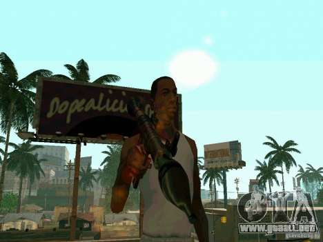 RPG de BF2 para GTA San Andreas tercera pantalla