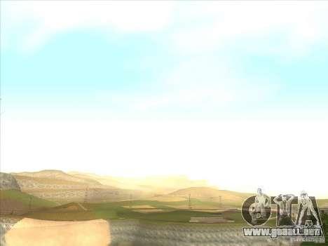 ENBSeries para PC media y débil para GTA San Andreas tercera pantalla