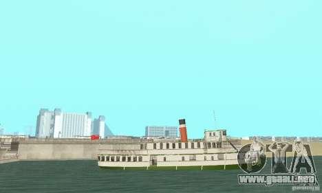 RMS Segwun Ferry para la visión correcta GTA San Andreas