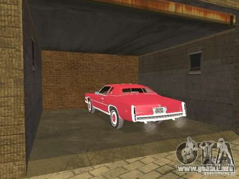 Cadillac Eldorado para vista lateral GTA San Andreas