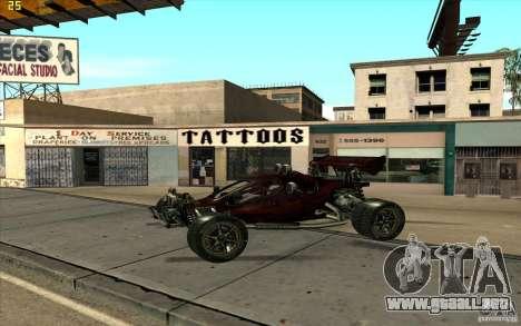 XCALIBUR CD 4.0 XS-XL RACE Edition para GTA San Andreas left