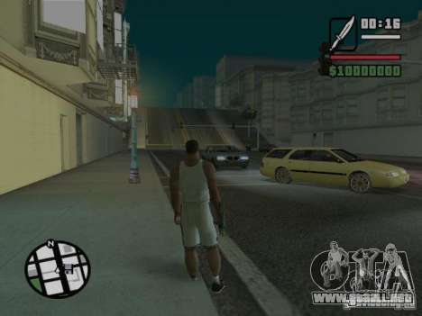 Sueño para GTA San Andreas quinta pantalla