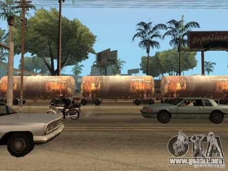 2 carros para GTA San Andreas vista hacia atrás