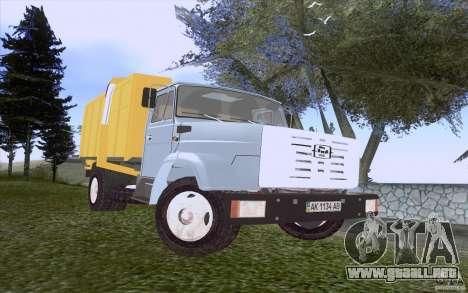 Camión ZIL 4331 para GTA San Andreas left