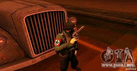 Soldados de la Wehrmacht para GTA San Andreas sucesivamente de pantalla