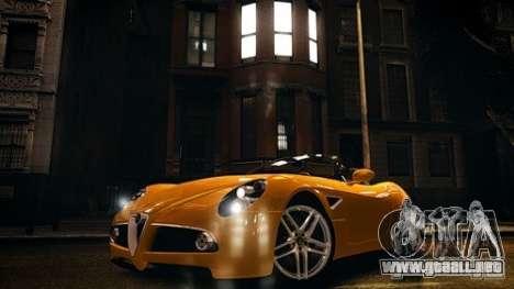 Alfa Romeo 8C Spyder para GTA 4