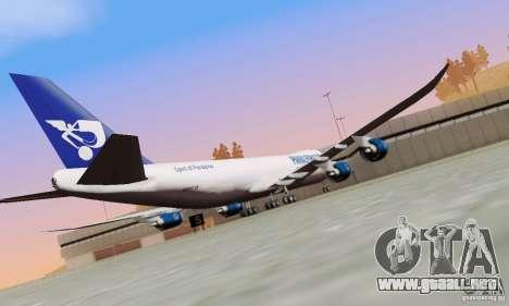 Boeing 747-8F para GTA San Andreas