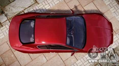 Maserati GranTurismo v1.0 para GTA 4 visión correcta