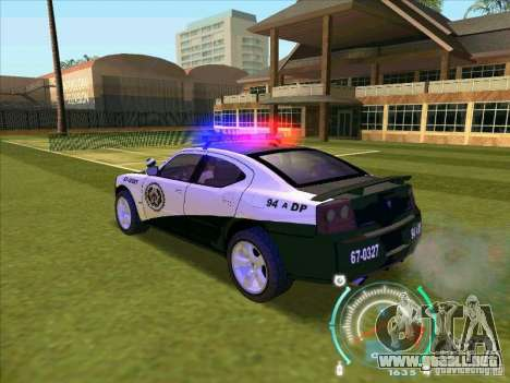 Dodge Charger Policia Civil from Fast Five para GTA San Andreas left