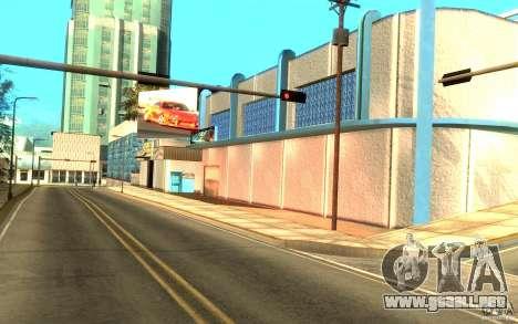 2Fast2Furious Transfender & Pay and Spray para GTA San Andreas segunda pantalla